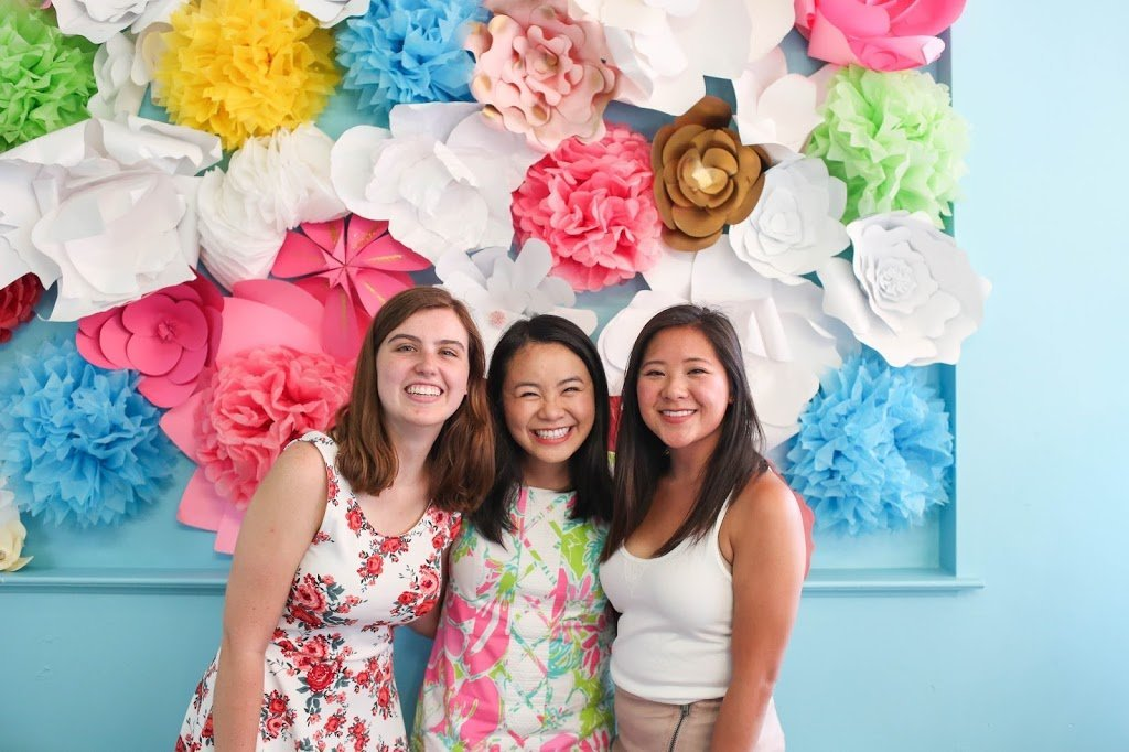 diy watercolor cookie painting 21st birthday party