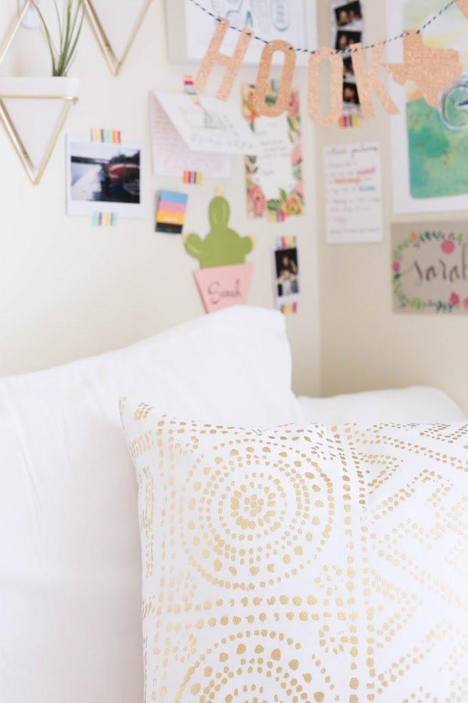 dorm decor, the university of texas dorm